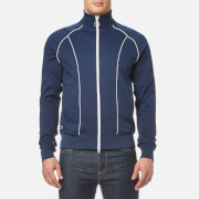 Lacoste L Ve Men's Tracksuit Zip Jacket Ship White Blue