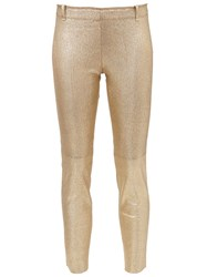 Stouls Herringbone 'Mick' Trousers Metallic