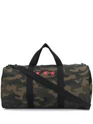 Hydrogen Camouflage Holdall Green