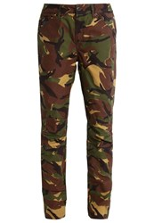 G Star Gstar Pharrell Williams Elwood X25 3D Boyfriend Trousers Fall Brown
