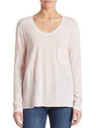 Wilt Vintage Long Sleeve T Shirt Orchid