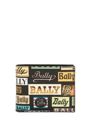 Bally Printed Coated Leather Classic Wallet Multicolor