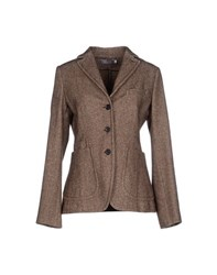 Peserico Suits And Jackets Blazers Women Dark Brown