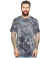 Vissla Thresher Tie Dye Short Sleeve Pocket T Shirt Top Phantom T Shirt Gray