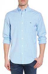 Vineyard Vines Carleton Classic Fit Gingham Sport Shirt Ocean Breeze