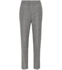 Givenchy Wool And Mohair Pants Grey