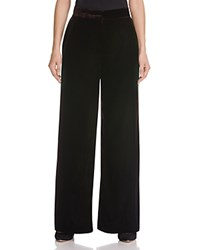 Whistles Velvet Pants 100 Bloomingdale's Exclusive Burgundy