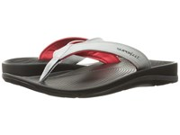 Superfeet Outside Sandal High Rise Fiery Red Men's Sandals White