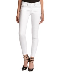 Kiind Of Mid Rise Sexy Skinny Jeans White Wash