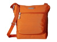 Baggallini Pocket Medium Crossbody Papaya Cross Body Handbags Orange