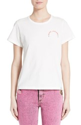 Marc Jacobs Women's Embroidered Tee