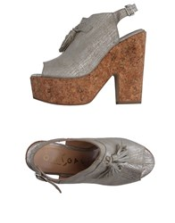 Ouigal Sandals Silver