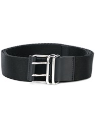 Givenchy Logo Printed Belt Black