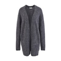 Acne Studios Raya Long Cardigan Warm Charcoal