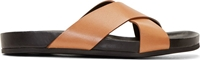 Common Projects Brown Criss Cross Sandals