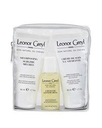 Leonor Greyl Luxury Travel Kit For Colored Highlighted Hair