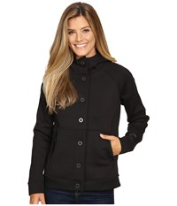 The North Face Neo Thermal Snap Hoodie Tnf Black Women's Sweatshirt