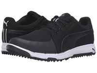 Puma Golf Grip Sport Black White Golf Shoes