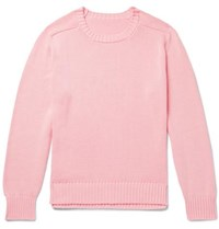 Anderson And Sheppard Cotton Sweater Pink