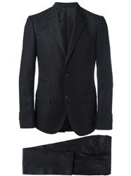 Gucci Micro Dots Patterned Suit Black