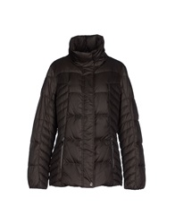 Geox Down Jackets Dark Brown