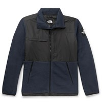 The North Face Denali Panelled Fleece And Shell Jacket Blue