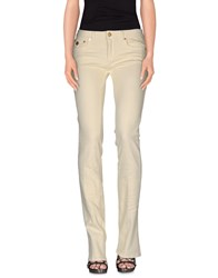 Roberto Cavalli Denim Denim Trousers Women Light Yellow