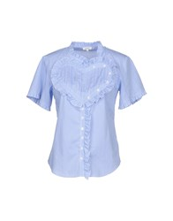 Manoush Shirts Azure