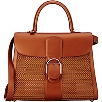 Delvaux Women's Brillant Gm Sellier Satchel Red