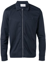 Our Legacy Bomber Jacket Men Cotton Polyester S Blue