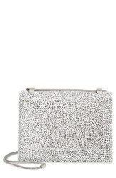3.1 Phillip Lim 'Soleil Mini Chain' Leather Shoulder Bag White White Black Nickel