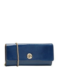 Tusk Tuscany Leather Chain Wallet Marine Blue