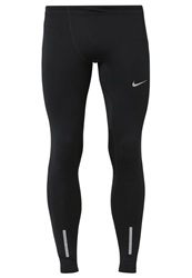 Nike Performance Tights Black Anthracite Reflective Silver