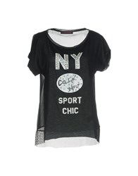 Cafe'noir Cafenoir T Shirts Black