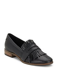 Seychelles Slip On Leather Penny Loafers Black