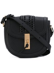 Altuzarra Ghianda Saddle Bag Women Cotton Leather One Size Black