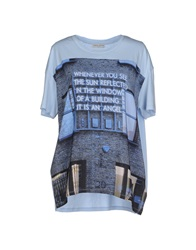 Each X Other T Shirts Sky Blue