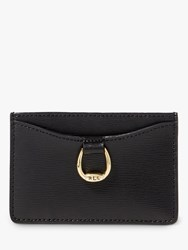 Ralph Lauren Bennington Leather Card Holder Black
