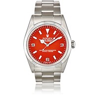 Vintage Watch Women's Oyster Perpetual Explorer 1 Red