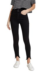 Blank Denim High Rise Corset Skinny Jeans Deep Thoughts