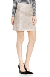 Vince Camuto Women's Faux Leather A Line Skirt