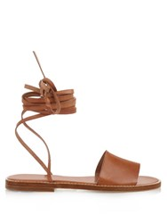 Max Mara Tiffany Sandals Tan