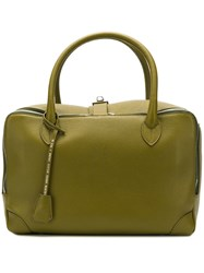 Golden Goose Deluxe Brand Large Equipage Tote Green