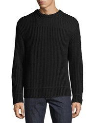 Canada Goose Gallaway Wool Sweater Black