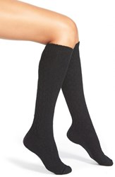 Women's Hue 'Fisherman' Cable Knit Knee High Socks
