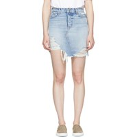 Grlfrnd Blue Rhoda Denim Skirt
