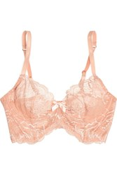 Agent Provocateur L'agent By Leola Stretch Lace Underwired Bra Blush