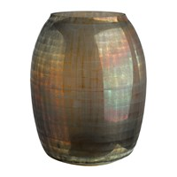 Pols Potten Checkered Brown Vase
