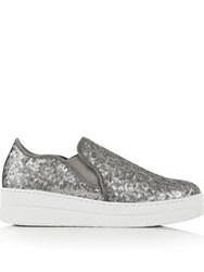 Kurt Geiger London Louie Sequin Pumps Silver