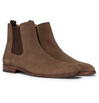 7f03ca1d282 Hugo Boss Cardiff Suede Chelsea Boots Brown